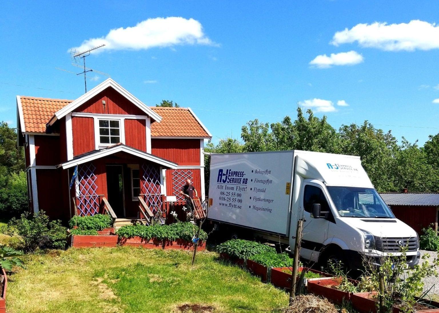 Flyttfirma i Haninge & Tyresö