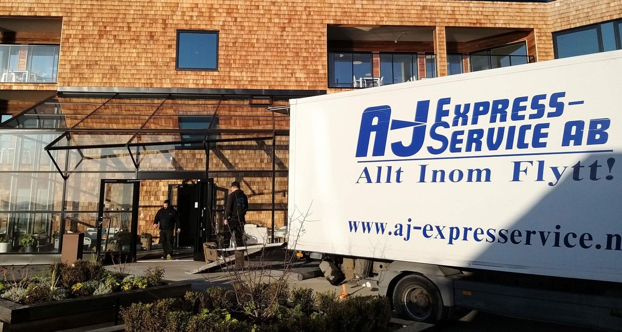 Bohagsflytt AJ Express