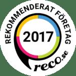 Rekommenderat företag Reco 2017