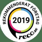 Rekommenderat företag Reco 2019